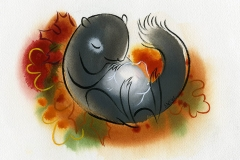 Shannon Jeffries Art squirrel